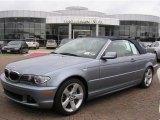 2006 Silver Grey Metallic BMW 3 Series 325i Convertible #6571465