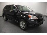 2009 Crystal Black Pearl Honda CR-V LX #65780616