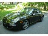2008 Black Porsche 911 Carrera Cabriolet #6561798