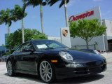 2008 Basalt Black Metallic Porsche 911 Carrera S Coupe #6560692