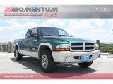2004 Timberline Green Pearl Dodge Dakota SLT Club Cab #65802417
