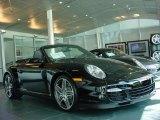 2008 Black Porsche 911 Turbo Cabriolet #6560693
