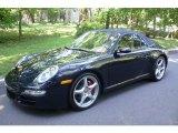2008 Midnight Blue Metallic Porsche 911 Carrera S Cabriolet #6561803