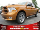 2012 Tequila Sunrise Pearl Dodge Ram 1500 Express Crew Cab #65802064