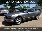 2007 Tungsten Grey Metallic Ford Mustang V6 Premium Coupe #65802030