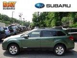 2012 Cypress Green Pearl Subaru Outback 2.5i Premium #65802026
