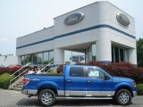 2012 Blue Flame Metallic Ford F150 XLT SuperCrew 4x4 #65801993