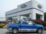 2012 Blue Flame Metallic Ford F150 XLT SuperCrew 4x4 #65801993