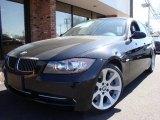 2007 Jet Black BMW 3 Series 335i Sedan #6563707