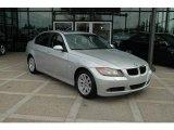 2007 Titanium Silver Metallic BMW 3 Series 328xi Sedan #6567653