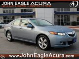 2009 Glacier Blue Metallic Acura TSX Sedan #65801944