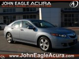 2009 Glacier Blue Metallic Acura TSX Sedan #65801942