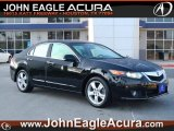 2009 Crystal Black Pearl Acura TSX Sedan #65801941