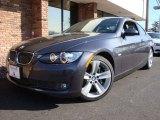 2008 Sparkling Graphite Metallic BMW 3 Series 335i Coupe #6563703