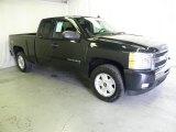 2010 Black Granite Metallic Chevrolet Silverado 1500 LT Extended Cab 4x4 #65853456