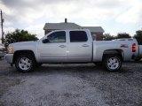2012 Silver Ice Metallic Chevrolet Silverado 1500 LTZ Crew Cab 4x4 #65853702