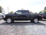 2012 Black Chevrolet Silverado 1500 LTZ Crew Cab 4x4 #65853701