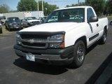 2005 Summit White Chevrolet Silverado 1500 Regular Cab #65853687