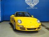 2008 Speed Yellow Porsche 911 Carrera Cabriolet #65853019
