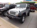 2012 Bright Silver Metallic Jeep Wrangler Sport S 4x4 #65853393