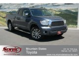2008 Slate Gray Metallic Toyota Tundra Limited Double Cab 4x4 #65852993