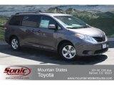 2012 Predawn Gray Mica Toyota Sienna LE #65852986