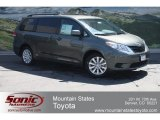 2012 Cypress Green Pearl Toyota Sienna LE AWD #65852984