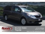2012 Predawn Gray Mica Toyota Sienna LE AWD #65852983