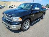 2012 Black Dodge Ram 1500 Laramie Longhorn Crew Cab 4x4 #65853586