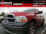 2009 Flame Red Dodge Ram 1500 ST Regular Cab #65802082