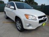 2012 Blizzard White Pearl Toyota RAV4 V6 Limited #65853267