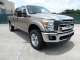2012 Pale Adobe Metallic Ford F250 Super Duty XLT Crew Cab 4x4 #65853263