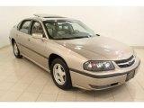 2001 Sandrift Metallic Chevrolet Impala LS #65853525