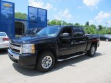 Black Chevrolet Silverado 1500 in 2011