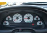 2002 Ford Mustang Saleen S281 Supercharged Coupe Gauges