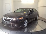 2010 Crystal Black Pearl Acura TSX Sedan #65916321