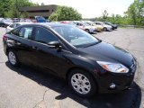 2012 Tuxedo Black Metallic Ford Focus SE Sedan #65915680