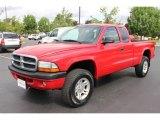 2004 Dodge Dakota Flame Red