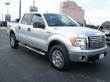 2010 Ingot Silver Metallic Ford F150 XLT SuperCrew 4x4 #65915616