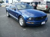 2009 Vista Blue Metallic Ford Mustang V6 Coupe #65915613