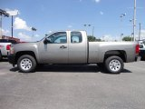 2012 Graystone Metallic Chevrolet Silverado 1500 Work Truck Extended Cab #65916211