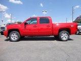 2012 Victory Red Chevrolet Silverado 1500 LTZ Crew Cab 4x4 #65916210