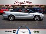 2002 Brilliant Silver Metallic Chrysler Sebring Limited Convertible #65915545
