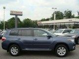 2012 Shoreline Blue Pearl Toyota Highlander V6 4WD #65915825