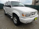 2000 White Pearl Tri Coat Metallic Ford Explorer Limited #65915807