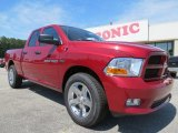 2012 Deep Cherry Red Crystal Pearl Dodge Ram 1500 Express Quad Cab #65915751