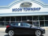 2012 Black Ford Focus SEL 5-Door #65915738