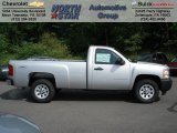 2012 Silver Ice Metallic Chevrolet Silverado 1500 Work Truck Regular Cab #65915736