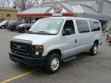 2008 Silver Metallic Ford E Series Van E350 Super Duty XL Passenger #65971197
