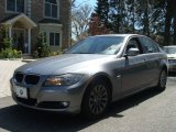 2009 Space Grey Metallic BMW 3 Series 328xi Sedan #65971195